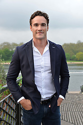 THOM EVANS at a party to launch the Taylor Morris Explorer Collection held at the Serpentine Lido, Hyde Park, London on 11th May 2016.