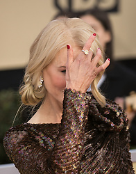 January 21, 2018 - Los Angeles, California, U.S - Nicole Kidman  at the red carpet of the 24th Annual Screen Actors Guild Awards held at the Shrine Auditorium in Los Angeles, California, Sunday January 21, 2018. (Credit Image: © Prensa Internacional via ZUMA Wire)