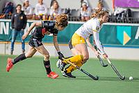 AMSTELVEEN - Rosa Fernig (DenBosch)  tijdens  de hoofdklasse hockey competitiewedstrijd dames, Amsterdam-Den Bosch (0-1)  COPYRIGHT KOEN SUYK