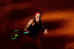May 18, 2018 - Rome, Italy - Tennis WTA Internazionali d'Italia BNL quarter-finals..Jelena Ostapenko (LAT) at Foro Italico in Rome, Italy on May 18, 2018. (Credit Image: © Matteo Ciambelli/NurPhoto via ZUMA Press)