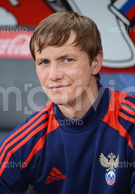 FUSSBALL INTERNATIONAL  EM 2012 Testspiel 01.06.2012 Italien - Russland  Roman Pavlyuchenko (Russland)