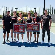 04/18/2019 - Women's Tennis v UCSD - Senior Day