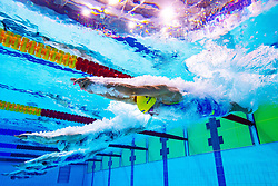 August 3, 2018 - Glasgow, United Kingdom - Sarah Sjostrom of Sweden competes in the qualifications of women's 100 meter butterfly swimming during the European Championships on August 3, 2018 in Glasgow. (Credit Image: © Joel Marklund/Bildbyran via ZUMA Press)
