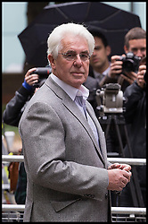 Max Clifford trial verdict update. Publicist Max Clifford arrives at court after lunch break for his trial at Southwark Crown Court, London, United Kingdom. Friday, 25th April 2014. Picture by Daniel Leal-Olivas / i-Images