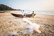 Fishermen, Talpona Beach, South Goa, India
