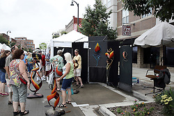 11 July 2015:   2015 Sugar Creek Arts Festival in Uptown Normal Illinois