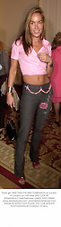 Party girl, MISS TARA PALMER-TOMKINSON at a party in London on 14th May 2001.OOB 89