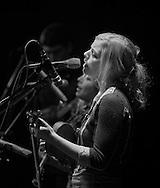 Odessa Jorgenson, lead singer in Bearfoot.  2010