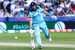 Joe Root of England takes a run - Mandatory by-line: Robbie Stephenson/JMP - 03/07/2019 - CRICKET - Emirates Riverside - Chester-le-Street, England - England v New Zealand - ICC Cricket World Cup 2019 - Group Stage