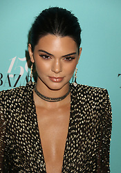April 19, 2017 - New York, New York, U.S. - Model KENDALL JENNER attends the Tiffany & Co. and Harper's Bazaar 150th Anniversary Event held at the Rainbow Room. (Credit Image: © Nancy Kaszerman via ZUMA Wire)