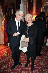 TIM BLANKS and Lucia van der Post  at a dinner hosted by HRH Prince Robert of Luxembourg in celebration of the 75th anniversary of the acquisition of Chateau Haut-Brion by his great-grandfather Clarence Dillon held at Lancaster House, London on 10th June 2010.