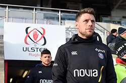 Rhys Priestland of Bath Rugby walks onto the field prior to the match - Mandatory byline: Patrick Khachfe/JMP - 07966 386802 - 18/01/2020 - RUGBY UNION - Kingspan Stadium - Belfast, Northern Ireland - Ulster Rugby v Bath Rugby - Heineken Champions Cup