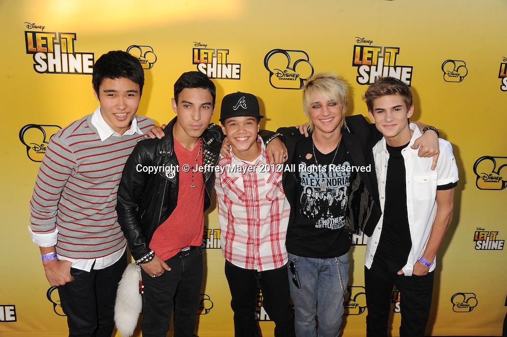 LOS ANGELES, CA - JUNE 05: I Am Five attend Disney's 'Let It Shine' Premiere held at The Directors Guild Of America on June 5, 2012 in Los Angeles, California.