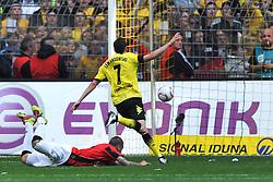 14.05.2011, Signal Iduna Park, Dortmund, GER, 1.FBL, Borussia Dortmund vs Eintracht Frankfurt, im Bild Robert Lewandowski (Dortmund #7) trifft zum 2-1 //  during the German 1.Liga Football Match,  Borussia Dortmund vs Eintracht Frankfurt, at the Signal Iduna Park, Dortmund, 14/05/2011 . EXPA Pictures © 2011, PhotoCredit: EXPA/ nph/  Conny Kurth       ****** out of GER / SWE / CRO  / BEL ******