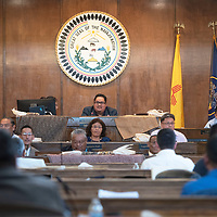 The Navajo Nation Council Chambers Wednesday, Oct. 23 during the Fall Session of the 24th Navajo Nation Council in Window Rock, Arizona.