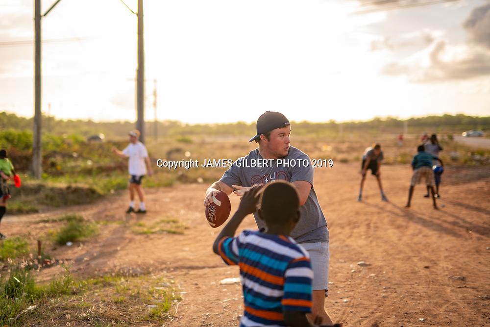 James Drysdale <br /> <br /> St Joe mission trip to Belize 2019. JAMES GILBERT PHOTO 2019