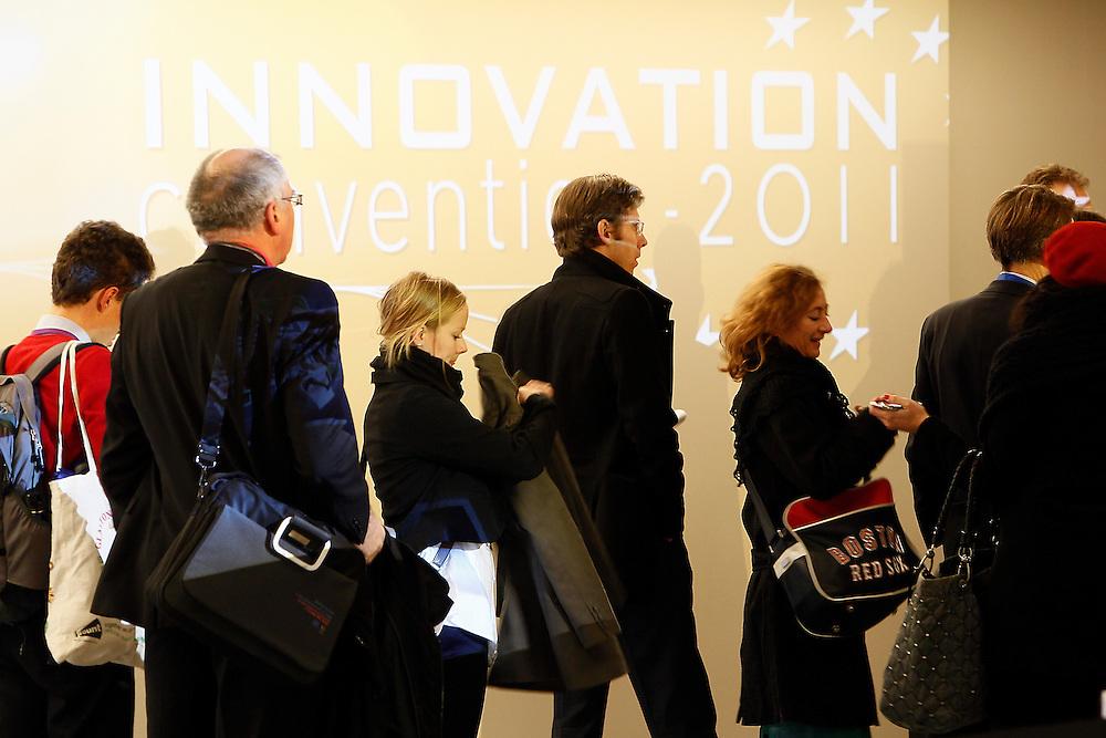 20111206 - Belgium , Brussels  - Innovation convention 2011 - Ambiance © European Union / Scorpix