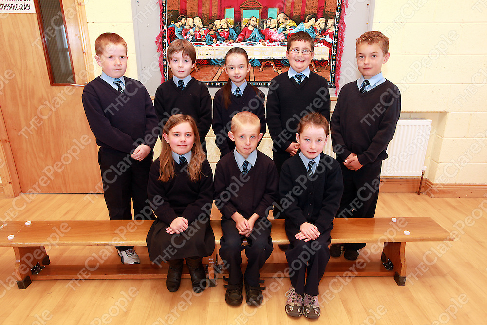 Mullagh National School Holy Communion Class.<br /> <br /> Photograph by Yvonne Vaughan