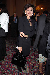 MONA ABDEL NASSER daughter of Gamal Abdel Nasser late President of Egypt at a party to celebrate the publication of The End of Sleep by Rowan Somerville held at the Egyptian Embassy, London on 27th March 2008.<br /><br />NON EXCLUSIVE - WORLD RIGHTS