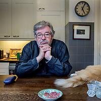 Nederland, Utrecht, 30 mei 2017.<br />Maarten van Rossem is een Nederlands historicus. Hij is gespecialiseerd in de geschiedenis en politiek van de Verenigde Staten.<br /><br /><br /><br />Foto: Jean-Pierre Jans
