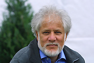 Canadian Booker prize-winning authorand poet Michael Ondaatje pictured at the Edinburgh International Book Festival where he gave a talk about his work, including his latest novel 'Anil's Ghost' set in the land of his birth, Sri Lanka.