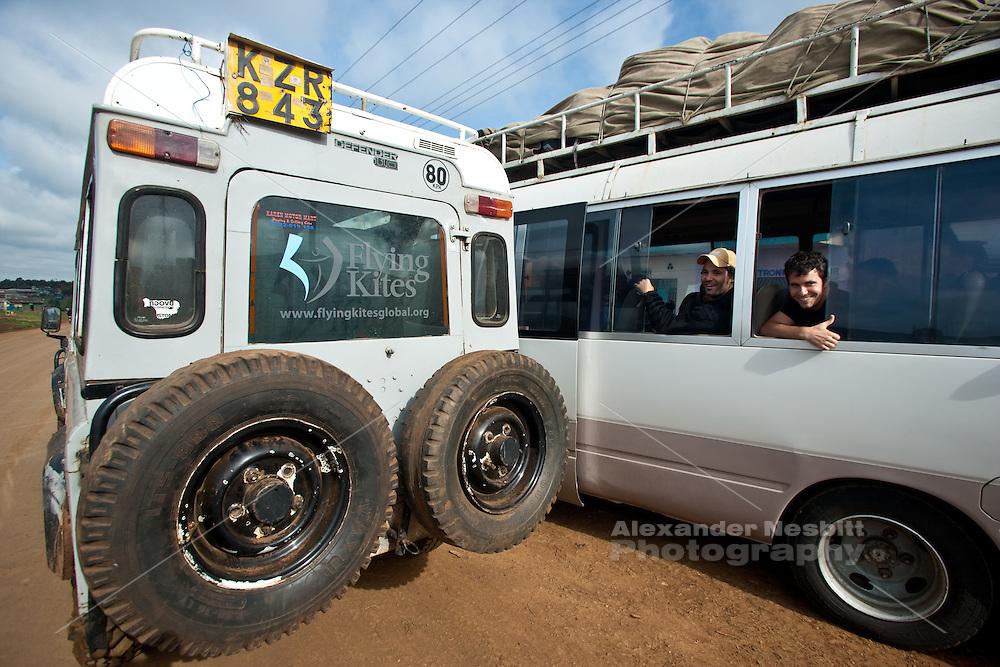 Traveling to Kilmanjaro from Kenya for the Adventure challange climb