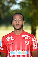 Tobias Badila of Nancy poses for a portrait during the Nancy squad photo call for the 2016-2017 Ligue 1 season on August 25, 2016 in Nancy, France<br /> Photo : Fred Marvaux / Icon Sport