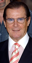 File photo dated 01/05/03 of Sir Roger Moore, who has died in Switzerland after a short battle with cancer, his family has announced.