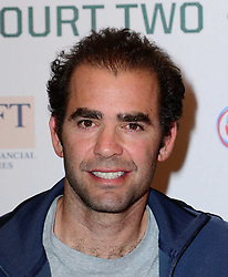 Pete Sampras attends World Tennis Day Showdown press conference ahead of his participation in World Tennis Day Showdown today, where Agassi will play Sampras, and Lendl will play Cash in memory of their 'epic Grand Slam rivalries', at The Athenaeum Hotel, 116 Piccadilly, London, United Kingdom. Monday, 3rd March 2014. Picture by Nils Jorgensen / i-Images