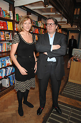 ROSE PRINCE and her husband DOMINIC PRINCE at a party to celebrate the publication of The New English Table by Rose Prince held at The Daunt Bookshop, Marylebone High Street, London on 9th April 2007.<br /><br />NON EXCLUSIVE - WORLD RIGHTS