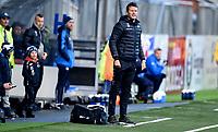 Fotball , 18. mars 2017 ,  Privatkamp , Strømsgodset - Sogndal 5-0<br /> trener Eirik Bakke , Sogndal