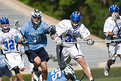 26 April 2009: Duke Blue Devils defenseman Parker McKee (35) during a 15-13 win over the North Carolina Tar Heels during the ACC Championship at Kenan Stadium in Chapel Hill, NC.