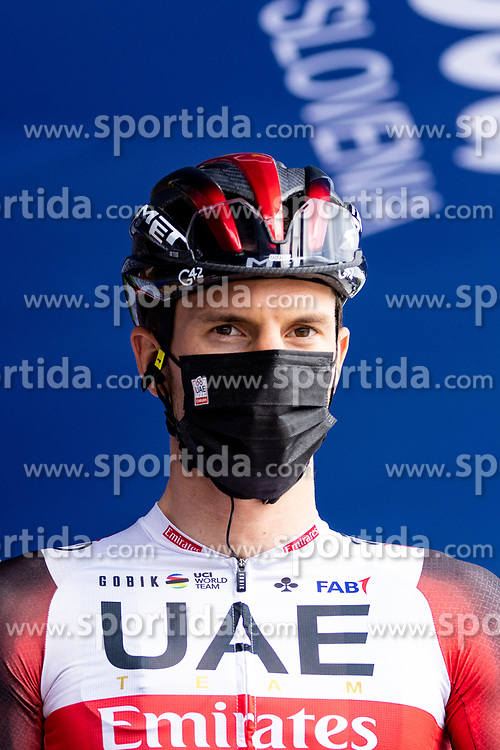 Jan POLANC of UAE TEAM EMIRATES prior to the 5th Stage of 27th Tour of Slovenia 2021 cycling race between Ljubljana and Novo mesto (175,3 km), on June 13, 2021 in Slovenia. Photo by Matic Klansek Velej / Sportida