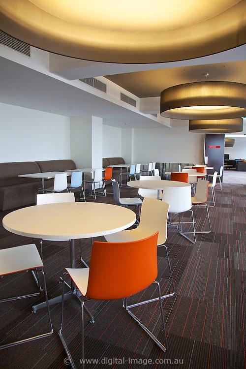 User Accomodation facility at the Australian Synchrotron,  dining room