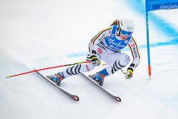 19.12.2018, Saslong, St. Christina, ITA, FIS Weltcup Ski Alpin, SuperG, Damen, im Bild Michaela Wenig (GER) // Michaela Wenig of Germany in action during her run in the ladie's Super-G of FIS ski alpine world cup at the Saslong in St. Christina, Italy on 2018/12/19. EXPA Pictures © 2018, PhotoCredit: EXPA/ Johann Groder