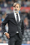Derby County manager Phillip Cocu during the EFL Sky Bet Championship match between Derby County and Cardiff City at the Pride Park, Derby, England on 13 September 2019.