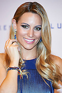 090816 Edurne presents the new collection of jewelry firm Luxenter
