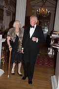 THE HON MRS. MARY CLARE HORN; TIMOTHY HORN, The National Trust for Scotland Mansion House Dinner. Mansion House, London. 16 October 2013