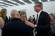 SAM KELLER; JAY JOPLING;, Opening of new White Cube Gallery in Bermondsey. London. 11 October 2011. <br /> <br />  , -DO NOT ARCHIVE-© Copyright Photograph by Dafydd Jones. 248 Clapham Rd. London SW9 0PZ. Tel 0207 820 0771. www.dafjones.com.