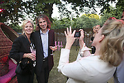 Amanda Elliasch, Ivor Braka and Kay Saatchi, The Summer Party sponsored by Yves St. Laurent. Serpentine Gallery. 11 July 2006. . ONE TIME USE ONLY - DO NOT ARCHIVE  © Copyright Photograph by Dafydd Jones 66 Stockwell Park Rd. London SW9 0DA Tel 020 7733 0108 www.dafjones.com