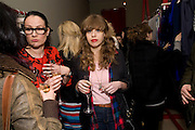 GABRIELLE STOOKAN, OPENING OF 'THE CONVENIENCE STORE' AT ST. MARTIN'S LANE HOTEL. London. 19 March 2009