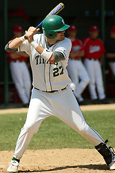 21 April 2007: Casey McIntosh Carthage College loses the first game of a double header by a score of 5-2 against the Illinois Wesleyan Titans.