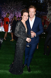 HELEN McCRORY and DAMIAN LEWIS at the Glamour Women of the Year Awards in association with Pandora held in Berkeley Square Gardens, London on 4th June 2013.