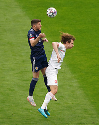 during the UEFA Euro 2020 Group D match at Hampden Park, Glasgow. Picture date: Monday June 14, 2021.