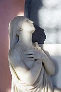 Village parish church Rendlesham, Suffolk, England, UK memorial sculpture female woman figure by Flaxman