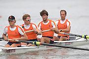 Amsterdam, HOLLAND, NED M4-, Bow, Geert CIRKEL, Matthijs VELLENGA, Jan-Willem GABRIELS and Gils VERMEULEN, at the 2007 FISA World Cup Rd 2 at the Bosbaan Regatta Rowing Course. 23.06.2007[Mandatory Credit: Peter Spurrier/Intersport-images]...... , Rowing Course: Bosbaan Rowing Course, Amsterdam, NETHERLANDS