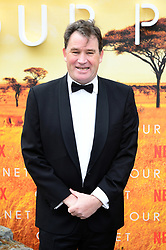 Alastair Fothergill attending the global premiere of Netflix's Our Planet, held at the Natural History Museum, London.