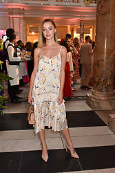 "Phoebe Dynevor at the opening of ""Frida Kahlo: Making Her Self Up"" Exhibition at the V&A Museum, London England. 13 June 2018."