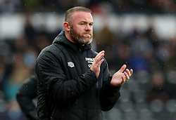 File photo dated 02-10-2021 of Derby County manager Wayne Rooney. Wayne Rooney will give an insight into his thinking during some of the biggest moments in his career and also open up on his battle with his mental health during a new documentary. Issue date: Tuesday October 12, 2021.