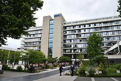 The German Cancer Research Institute in Heidelberg, Germany whic will be visited by the Duke and Duchess of Cambridge.